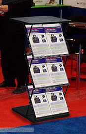 Portable lecterns make bringing a podium to different events simple