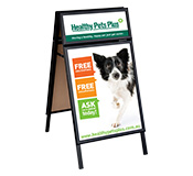 Clip Frame A-Board with Header