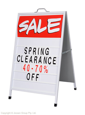 A Frame Sidewalk Signs Changeable Letter - Ships Same Day!