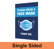Face Mask Corflute Sign