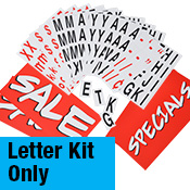 Additional Letter Kits - 300 pieces