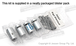 Standoffs Shipped in Blister Pack