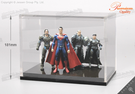 The Acrylic Display Case Protects Collectibles, Valuables