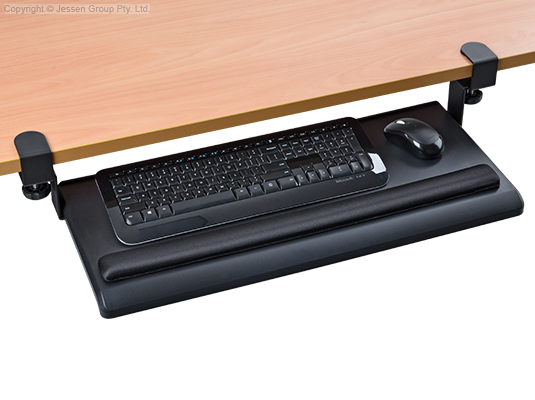 Attachable Keyboard Tray For Desk No Screws Ships Same Day