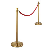 Crowd Control Stanchions and Rope