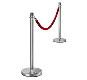 Rope Barrier Posts