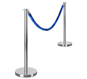 Polished Rope Barriers