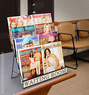 Ideal for Waiting Rooms!