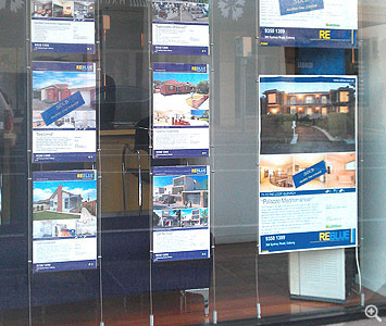Real Estate Window Display Systems 166 Slimline Warehouse