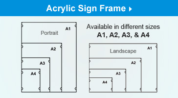 Additional Acrylic Frames for Use with Kit!