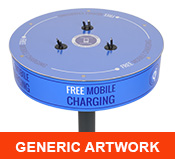 Power Table Charging Station