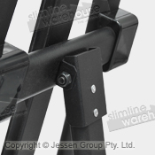 Strong steel hinge to handle constant use