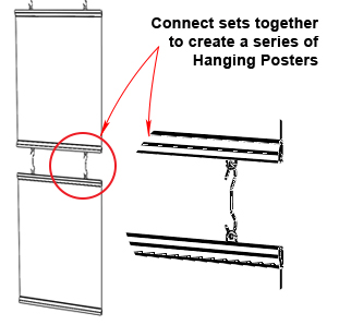 Connect Posters for Larger Display