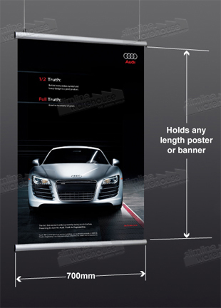 Hanging Banner for 700mm Wide Graphics