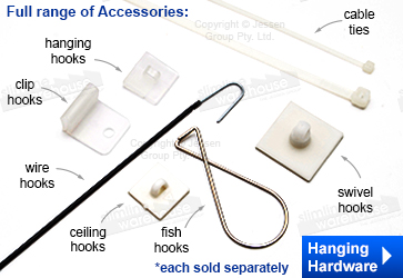 Plastic Hook & Hanging Hardware
