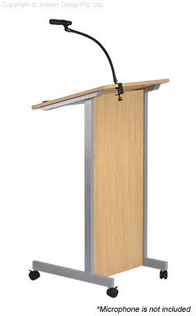 Lectern And Microphone Clamp 460mm Gooseneck Ships