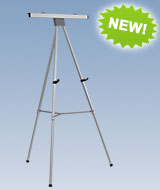 Aluminium Easel with Flip Chart Holder