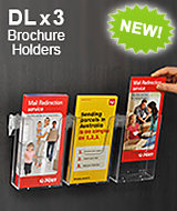 Wall Brochure Displays