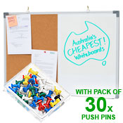 COMBO BOARD <br> 600 x 900mm <br>  WITH 30 PINS PACK
