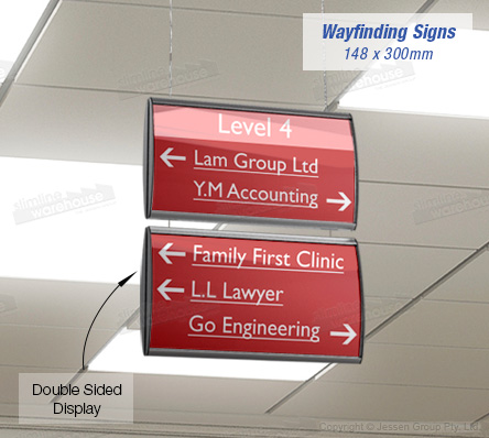 Suspended Ceiling Signs ¦ Slimline Warehouse