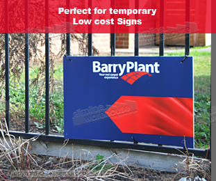 Temporary Signs for use in any Environment
