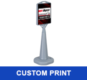 Outdoor Freestanding Sign w/<br>2-Sided Custom Print