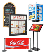 Hospitality Industry Displays