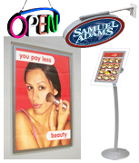 Light Boxes & Displays