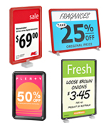 POS & Price Ticket Displays