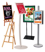 Poster Stands & Display Easels