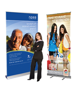 Pull Up & Retractable Banners