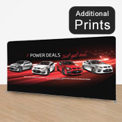 Straight Fabric Display Print      2.1 x 3.7m