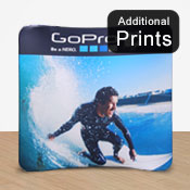 Curved Fabric Dispaly Print      2.2 x 2.4