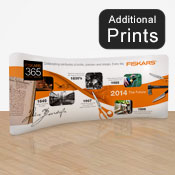 Curved Fabric Display Print      2.2 x 6.1m