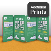 4 Magnetic Panel Set - Double Sided Print Only