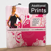 Additional Graphics Fabric<br>Fabric Graphic Print Only<br> <b>2.2m x 2.1m S/Sided</b>