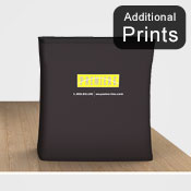 Additional Graphics Fabric<br>Fabric Graphic Print Only<br> <b>Counter Display </b>