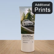 Additional Graphics Fabric<br>Fabric Graphic Print Only<br> <b>Straight 2m Display </b>