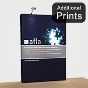 Additional Graphics Fabric<br>Fabric Graphic Print Only<br> <b>2.2m x 1.5m S/Sided</b>