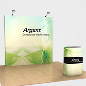 Portable Display for Exhibition Booth