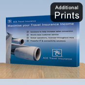 Additional Graphics Fabric<br>Fabric Graphic Print Only<br> <b>2.2m x 3m S/Sided</b>