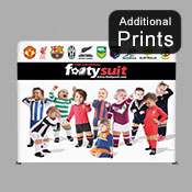 ADDITIONAL Graphics Fabric Graphic Print ONLY (2.2m x 2.9m S/Sided)