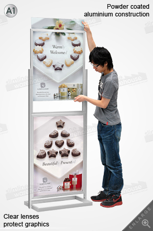 Freestanding Display