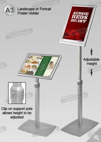 A3 Poster Stand