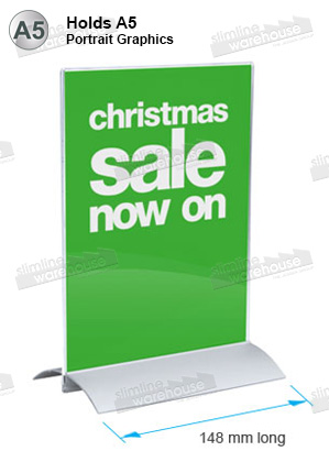 A5 POS Sign HOlder