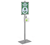 Hand Sanitizer Stations Freestanding