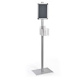 Hand Sanitizer Floor Stand