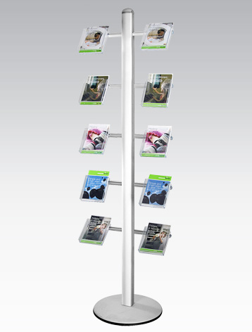 A5 Acrylic Brochure Holder for the Sages Display System