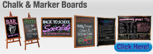 Chalk & Marker Boards