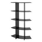 Black Retail Shelving